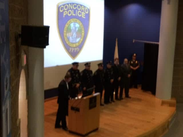 Members of the Concord Police Department were honored at a ceremony on June 9 by the Municipal Police Training Committee for their life saving achievements. (Courtesy Photo)
