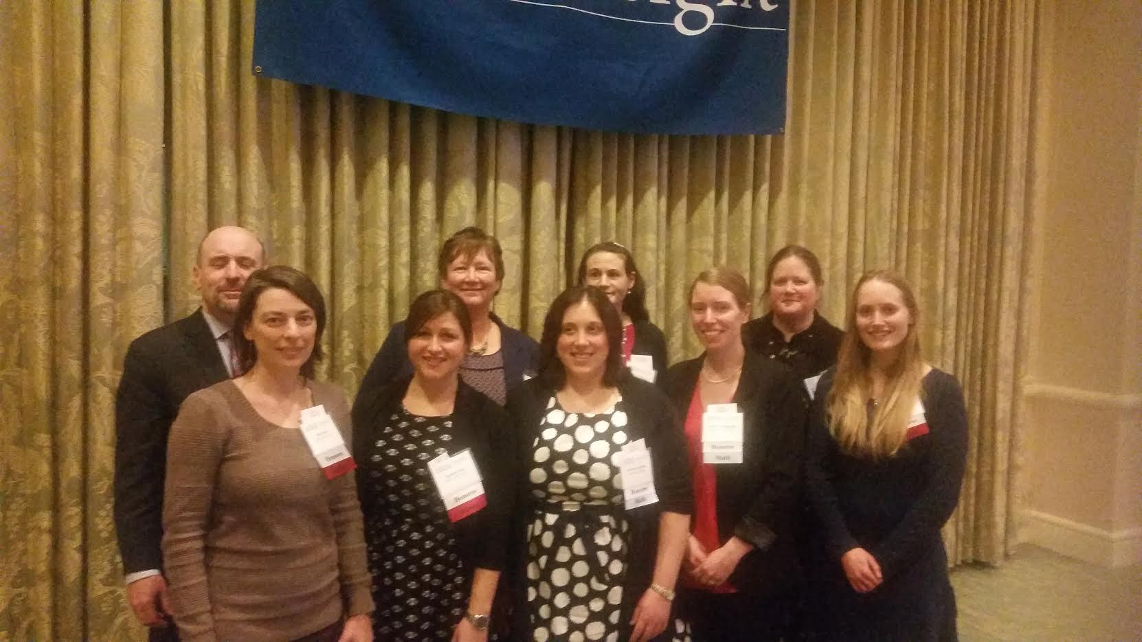 Eight teachers from Melrose High School were recognized during the Partners in Excellence celebration. (Courtesy Photo)