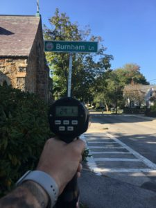 The department's data analysis indicated that School Street was a high volume location with approximately 50 percent of vehicles travelling 5 mph or more above the speed limit.