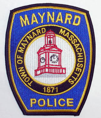 Maynard Police Patch