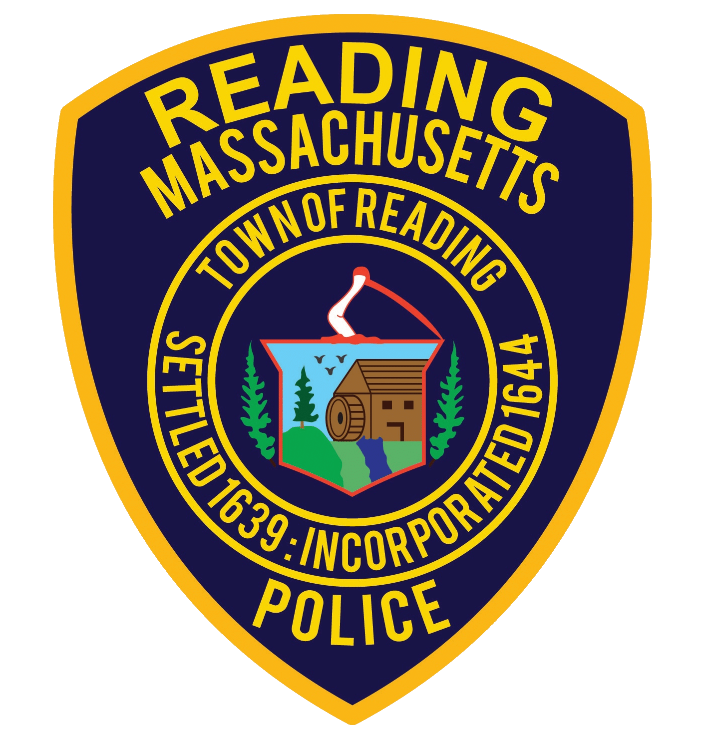 reading police 2020 patch